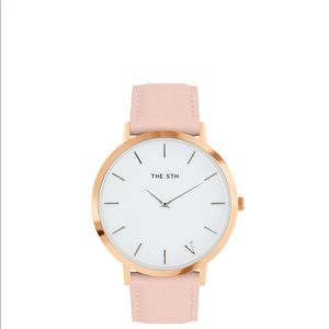 The Fifth Watch in rose gold and blush